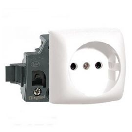 Base enchufe blanco Legrand Oteo 086125