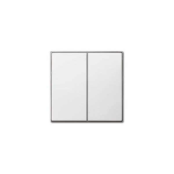 Tecla doble interruptor blanco Niessen Sky 8511 bl