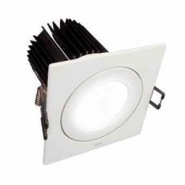 ARO LED CUADRADO 15,5W 830 1000LM COLOR ALUMINIO
