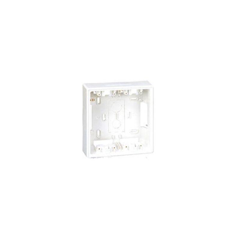 Caja superficie 2 módulos blanco Cima 500