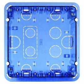 Caja de empotrar pared 2 módulos dobles Simon 500 Cima