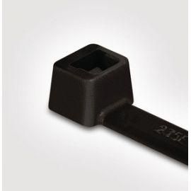 Bridas de poliamida negras 100mmX2,5mm Bolsa 100