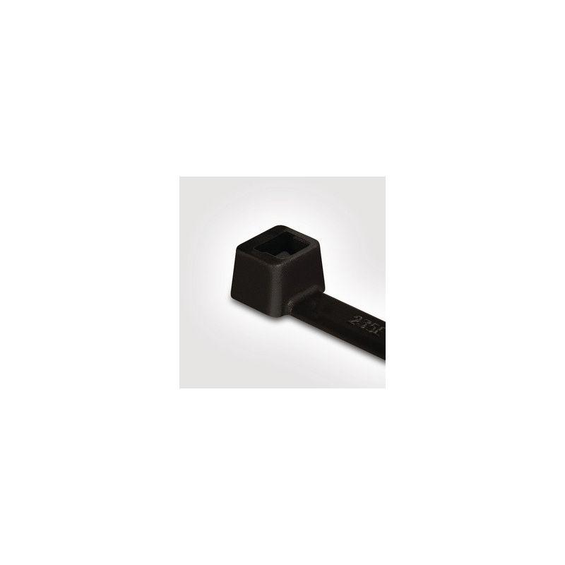 Bridas de poliamida negras 200mmX4,6mm Bolsa 100