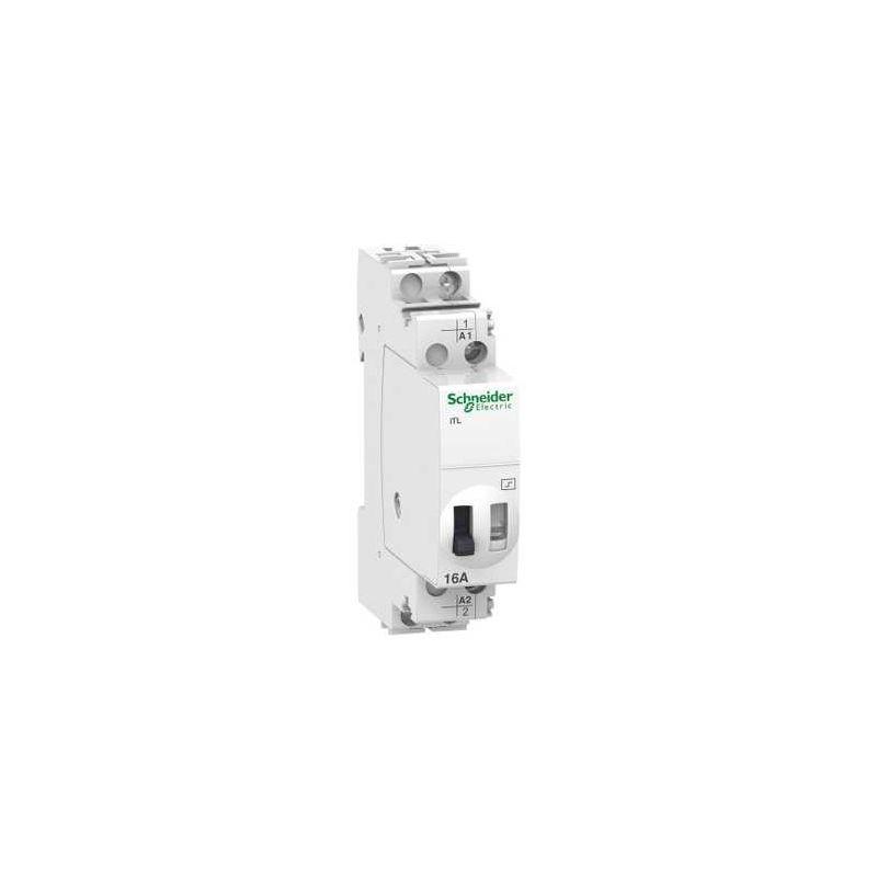 Contactores y Telerruptores SCHNEIDER Telerruptor iTL 1P 1NO 16A 230VCA 110V CC