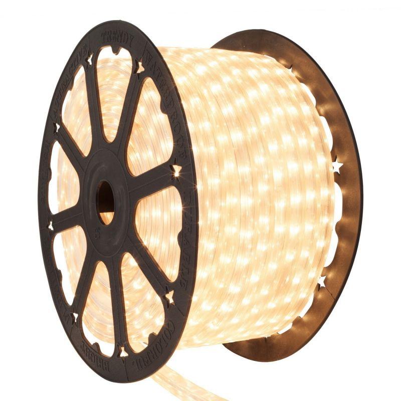 FLEXILIGHT LED DE NAVIDAD (ROLLO 45 M)  BLANCO CALIDO