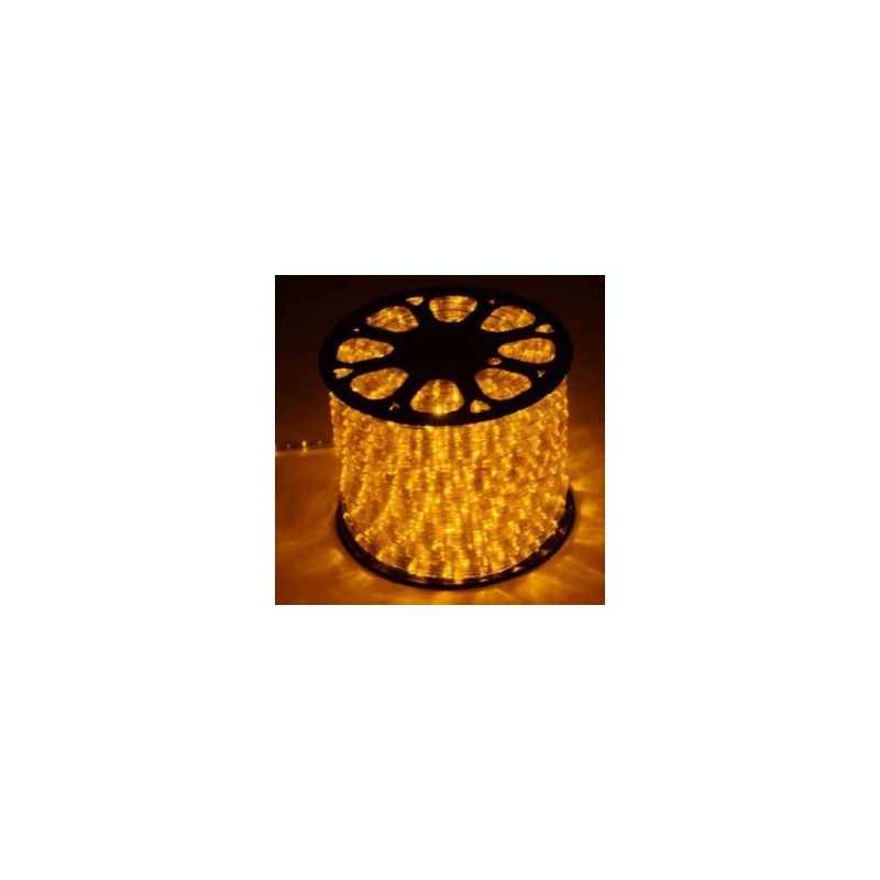 FLEXILIGHT LED DE NAVIDAD (ROLLO 45 M) NARANJA