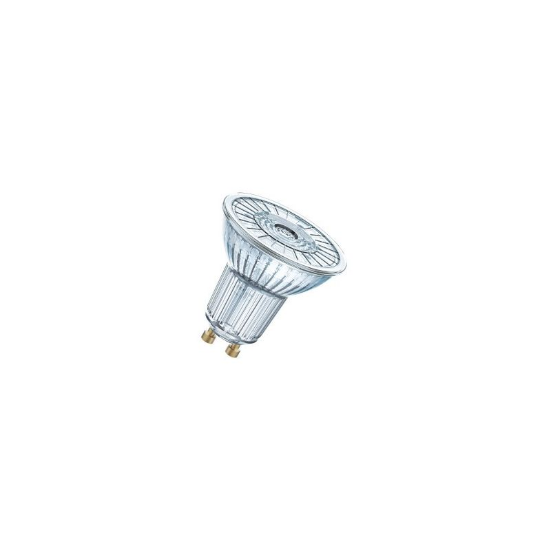 Lámparas LED con casquillo GU10 LEDVANCE Bombilla led Parathom 4,3W 840 GU10 cristal 36º Osram