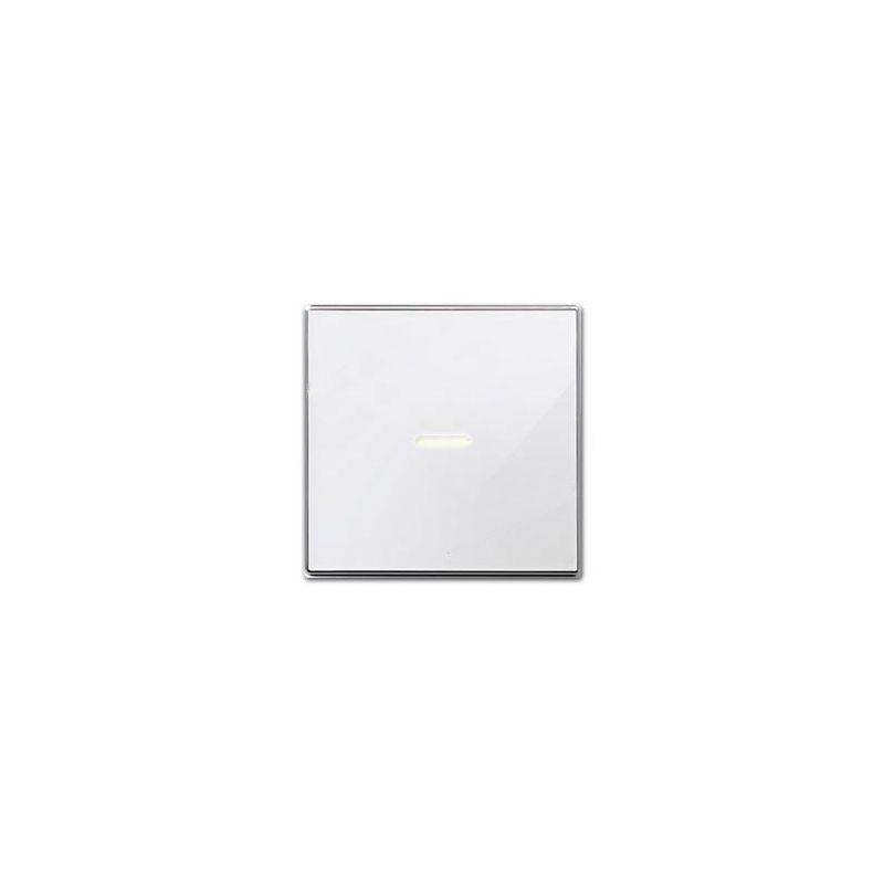 Tecla interruptor con visor Cristal blanco 8501.3CB Niessen Sky