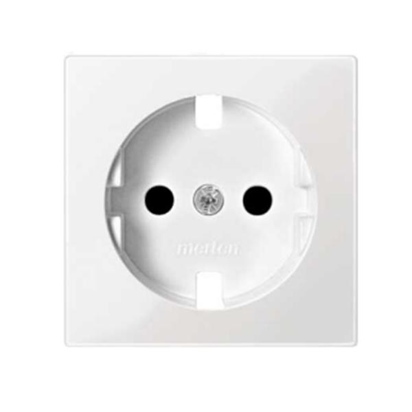 Tapa schuko prot.infantil blanco marfil Elegance MTN2330-0319