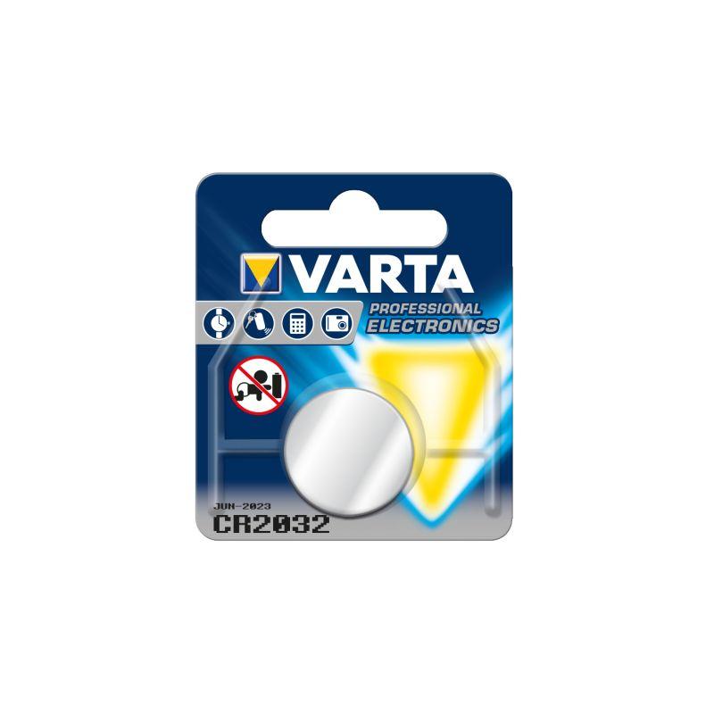 Pila de Botón de litio CR2032 3V Varta