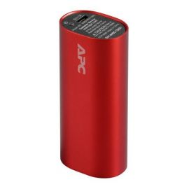 BATERÍA PORTATIL APC MOBILE POWER PACK 3000MAH ROJO