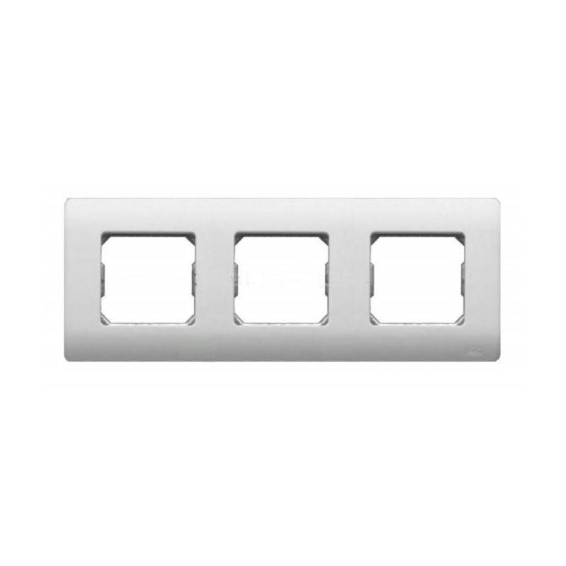 Interruptores y Enchufes por marca BJC Marco 3 elementos blanco BJC Sol Teide 16313