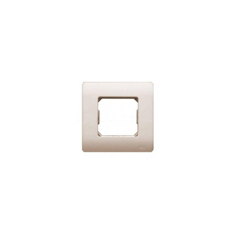Interruptores y Enchufes por marca BJC Marco 1 elemento beige con garras BJC Sol Teide 16001-A