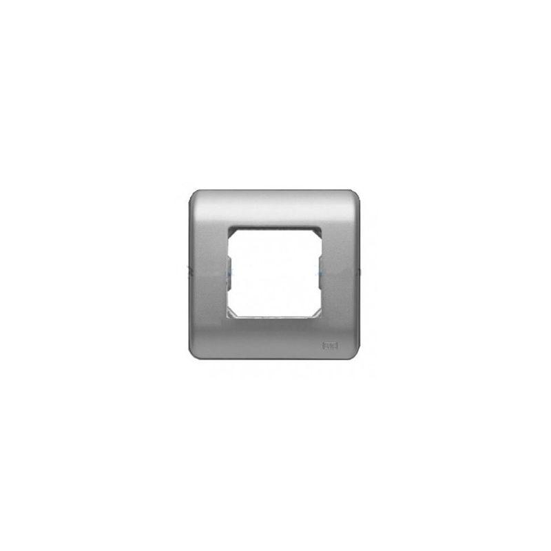 Interruptores y Enchufes por marca BJC Marco 1 elemento plata BJC Sol Teide 16001-PL