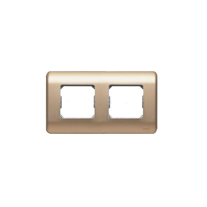 Marco doble dorado BJC 16002-DR Sol Teide