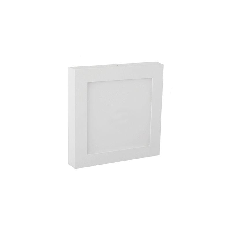 JISO JISO Downlight superficie cuadrado blanco 22W 3000K 220mm Jiso