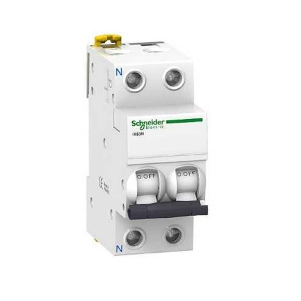 Magnetotérmico 1P+N 20A IK60N Schneider A9K17620