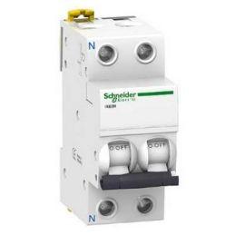 Magnetotérmico 1P+N 6A IK60N Schneider A9K17606