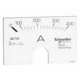 Aparellaje industrial SCHNEIDER Escala para amperímetro analógico de 0 a 150 A