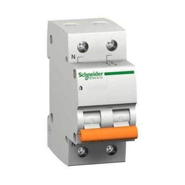 Magnetotérmico 16A Domae 1P+N Schneider