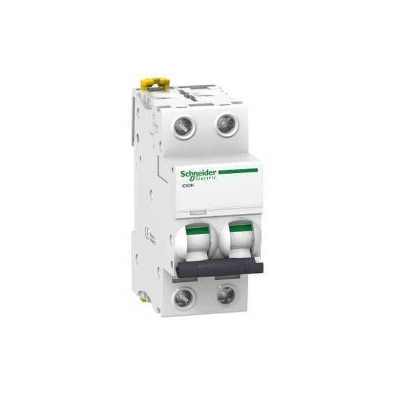Magnetotérmico 2P 6A iC60N Schneider A9F79206