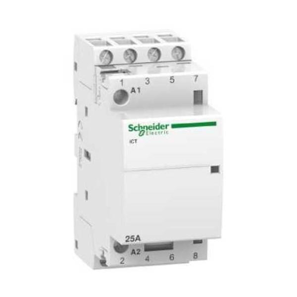 Contactor modular iCT 25A 4NA  230V CA Schneider A9C20834