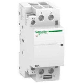 Contactores y Telerruptores SCHNEIDER Contactor modular iCT 40A 2NA  230V CA Schneider A9C20842