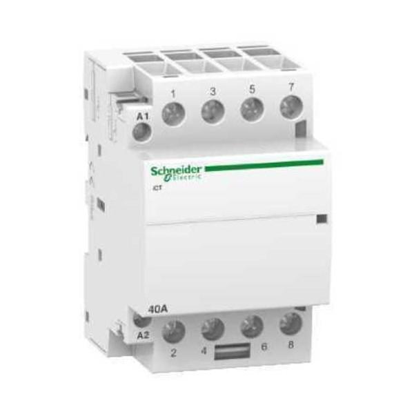 Contactor modular iCT 40A 4NA  230V CA Schneider A9C20844
