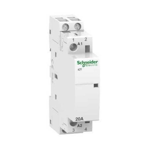 Contactor modular iCT 20A 2NA  230V CA Schneider A9C22722