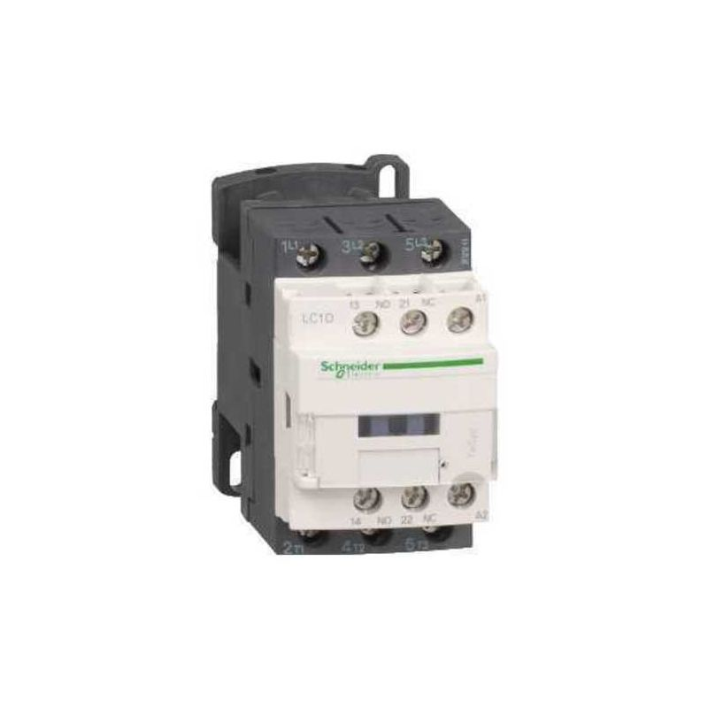 Aparellaje industrial SCHNEIDER Contactor 12A 3P 1 NA+1 NC 230V LC1D12P7 Schneider