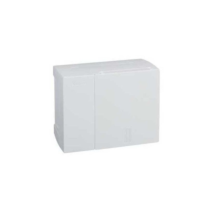 Cuadros de superficie SCHNEIDER Cofret Mini Pragma superficie 1 fila 6 módulos blanca Schneider