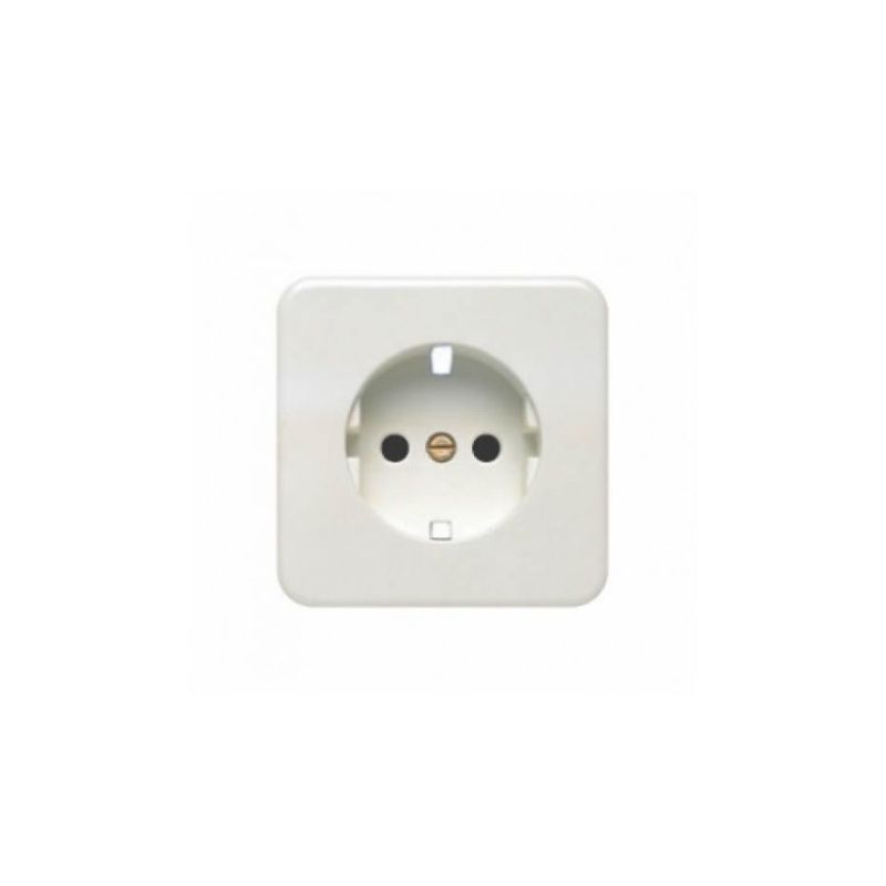 Tapa base de enchufe blanco BJC Ibiza 10773-B