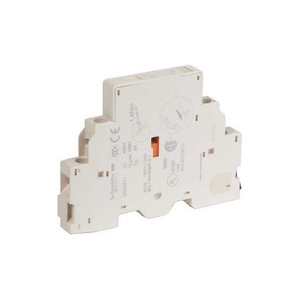 Bloques de contactos auxiliares 1 NA +1 NCGVAN11