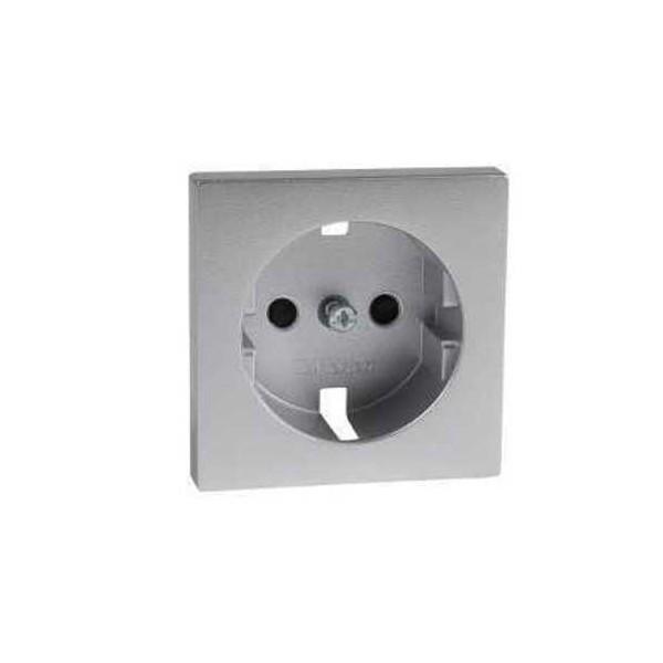 Tapa enchufe color aluminio Elegance MTN2330-0460