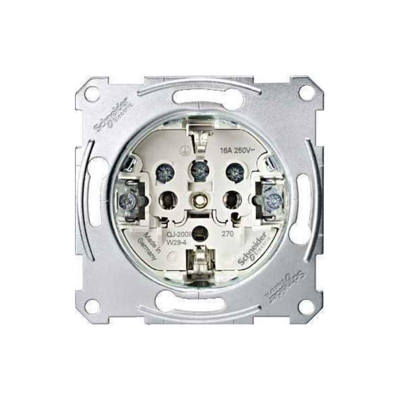 Interruptores y Enchufes por marca SCHNEIDER Base enchufe schuko Schneider MTN2400-0000