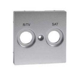 Tapa R/TV-SAT aluminio Schneider Elegance MTN299260