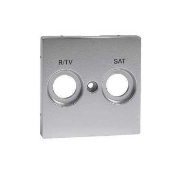 Tapa r/tv-sat color aluminio Elegance MTN299260