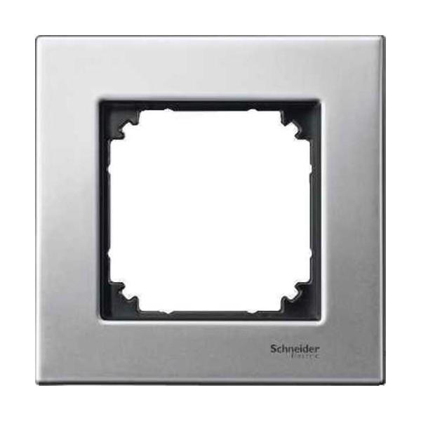 Marco 1 elemento Elegance acero MTN403160