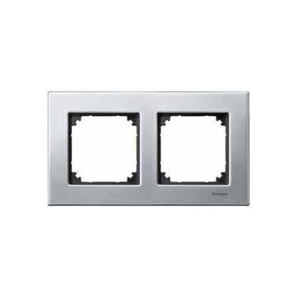 Marco 2 elementos Elegance acero MTN403260