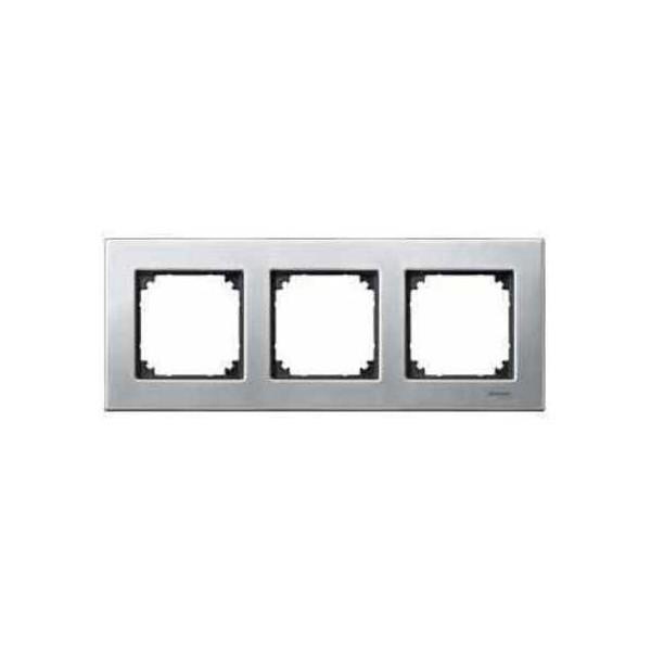 Marco 3 elementos Elegance acero MTN403360