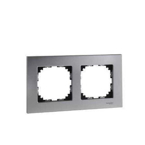 Marco 2 elementos Elegance aluminio MTN406260