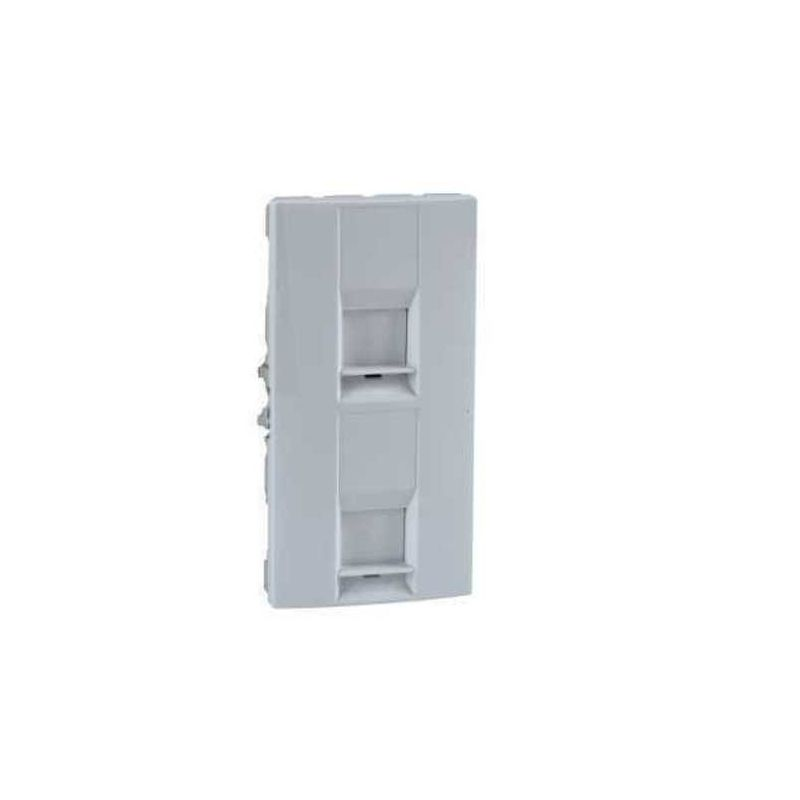 TAPA DOBLE TOMA CONECTOR POL.UNICA SYSTEM