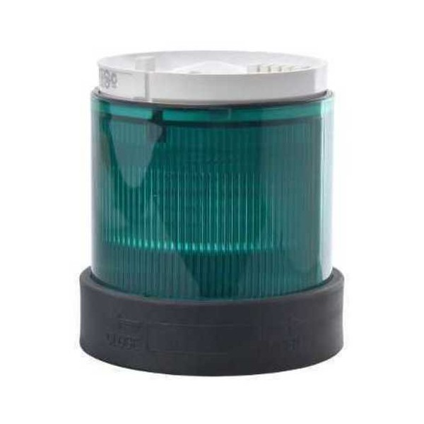 Luminoso señalizacion permanente 250V verde XVBC33
