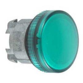 Cabeza con led integrado unicamente verde ZB4BV033