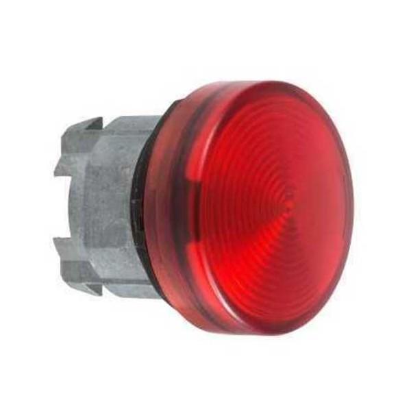 Cabeza con led integrado unicamente rojo ZB4BV043