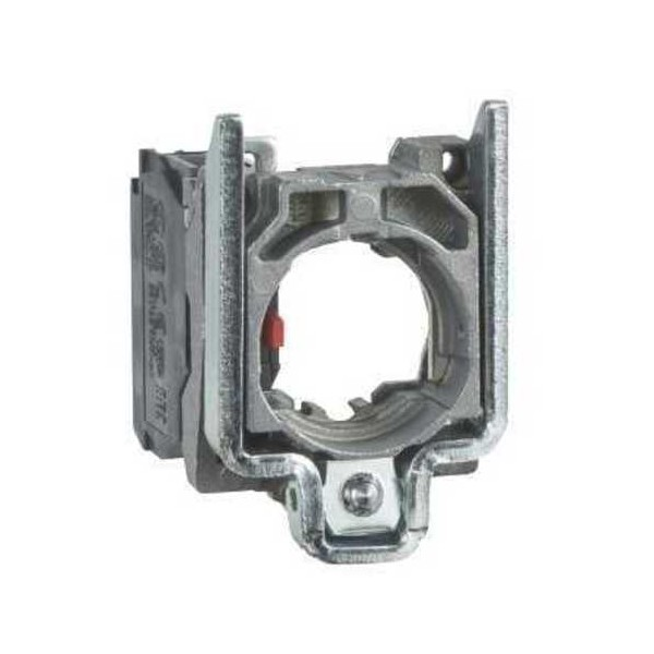 Cuerpo 1NC conexion tornillo embellecedor metalico ZB4BZ102