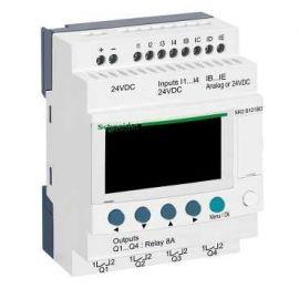 Relé programable Zelio 24V 12E/S con visor Schneider