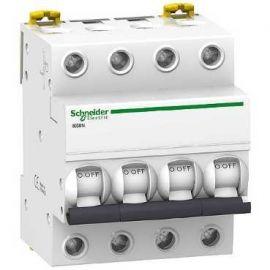 Interruptor Automático Magnetotérmico 4P 10A iK60N Schneider A9K17410