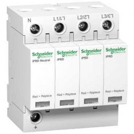 Limitador sobretensión IPRD40 40kA 350V 3P+N Schneider