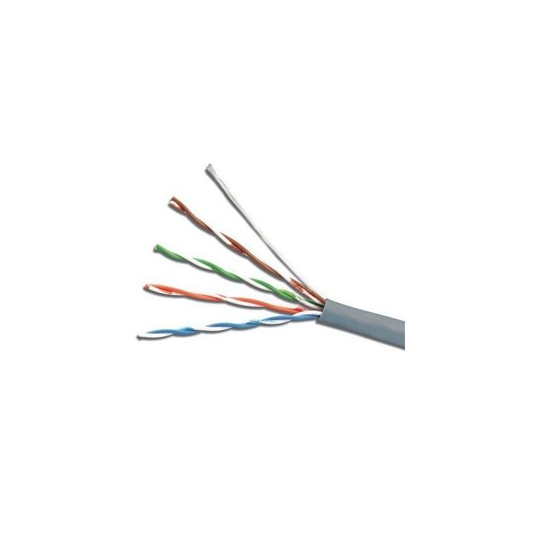 Cable U/UTP Cat. 5e PVC gris 305 metros